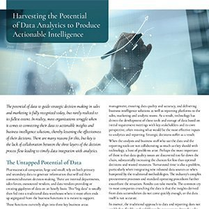 Harvesting the Potential of Data Analytics to Produce Actionable Intelligence