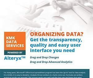 Organizing Data? Seeing is Believing